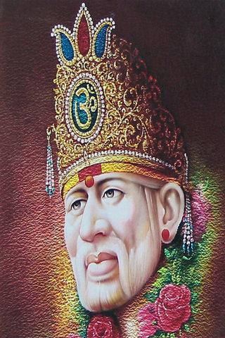 Khuôn mặt Sai Baba