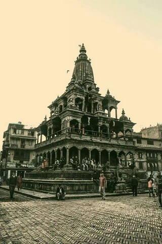 Templo hindú de Nepal