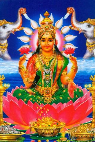 إلهة هندوسية لاكشمي ديفي