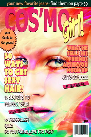 Magazine Layout Cover