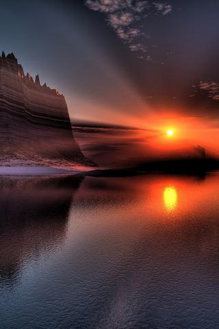 Futuristic Sunset