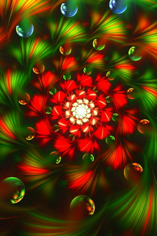Fractal Colorful Bright