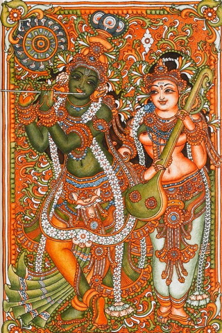 Krishna Radha Paintings