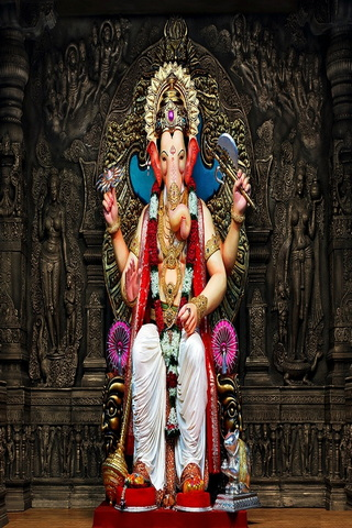 Strong Ganesha