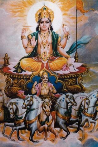 Deity Surya