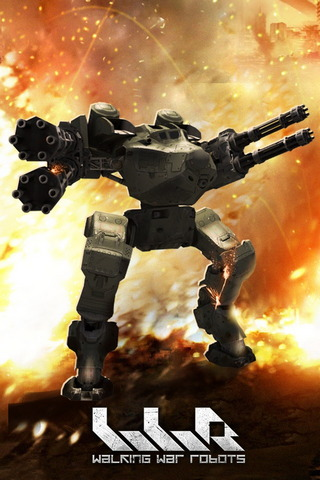 Walking War Robots! Free 3D Mmo Shooter For Ios