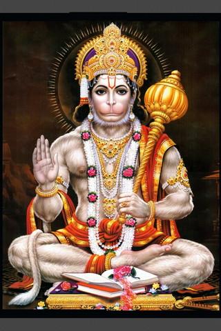 Seduto Hanuman
