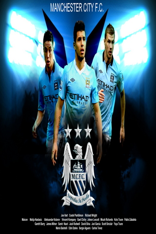 Player Background Of Manchester City