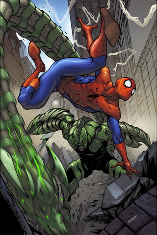 Spider Man Big Time Stefanocaselli I4 Sh