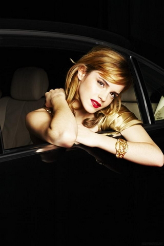 Car Window Emma Watson