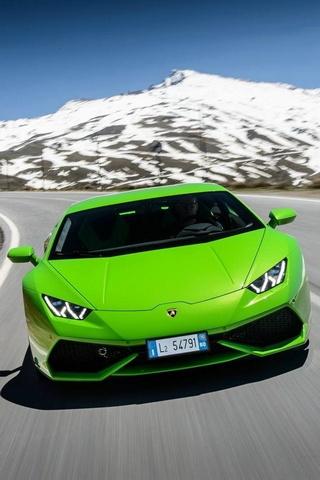 Lamborghini Huracan Lp640 Зеленый
