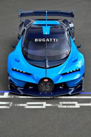 Visão de Bugatti veyron Gt