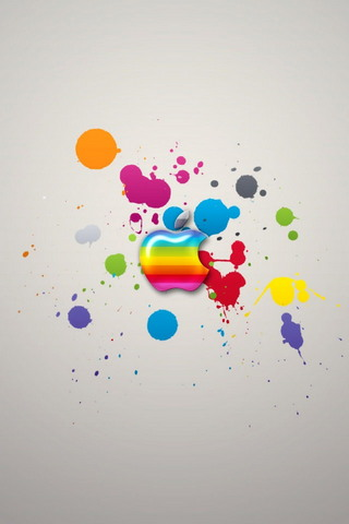 Apple Colors IPhone 4 Wallpaper1