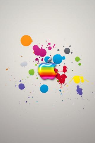 Apple Colors IPhone 4 Wallpaper1