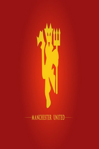 Dark Red Background Of Manchester United