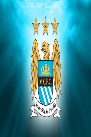 Blue Background Of Manchester City