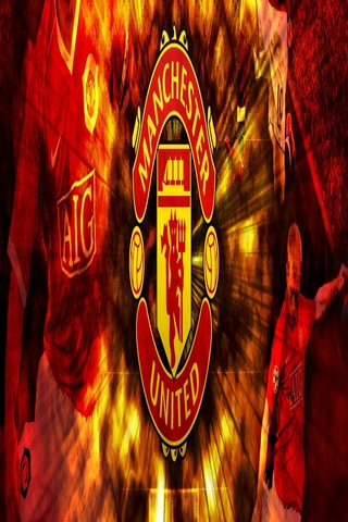 Fire Background Of Manchester United