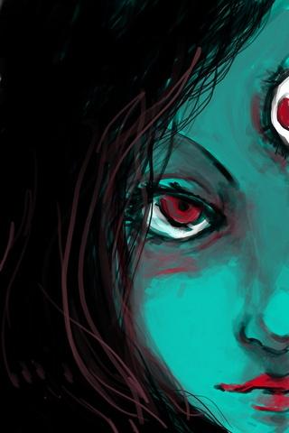 Kali Scary Eye