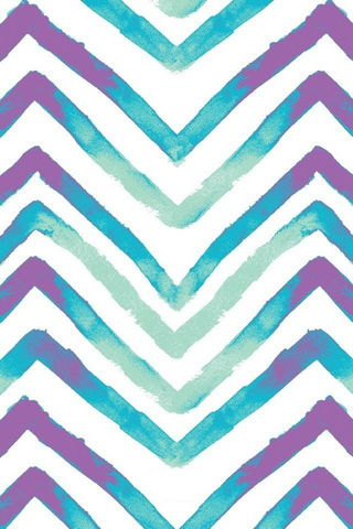 Purple And Blue Chevron