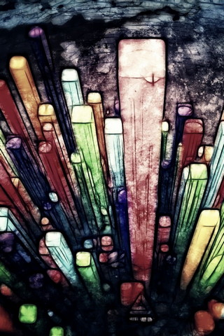 Abstract Painting Colorful IPhone 4s Wallpaper Ilikewallpaper Com