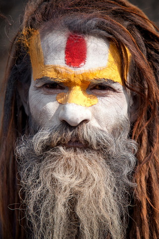 Sadhu Of Nepal
