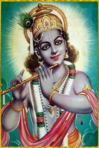 Shri Krishna Play Flute