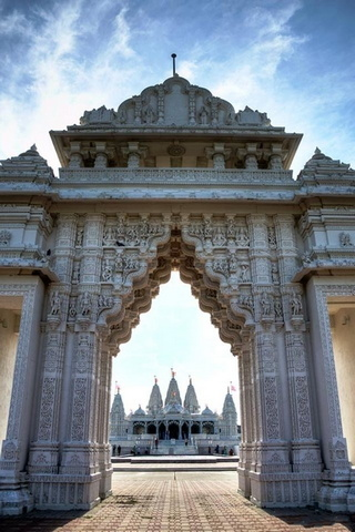 Temple hindou de Houston