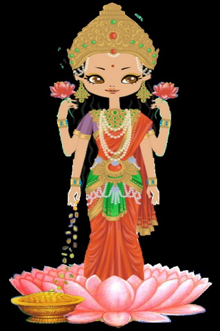 Beautiful Goddess Lakshmi
