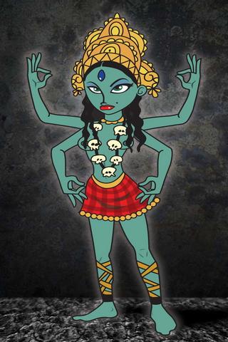 Hindu tanrıçası Kali