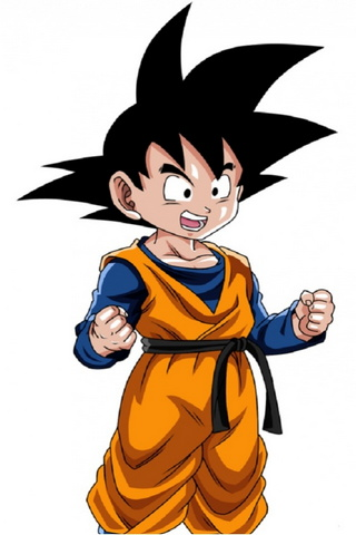 Kid Goten Normal