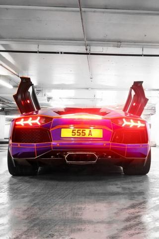 Promenade de la Liberté Lamborghini Aventador