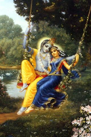 Кришна Радха Любовь