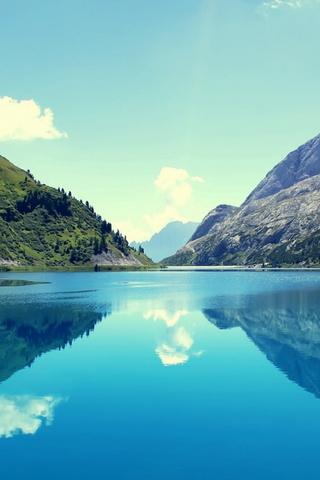 Marmoleda Mountain Reflections