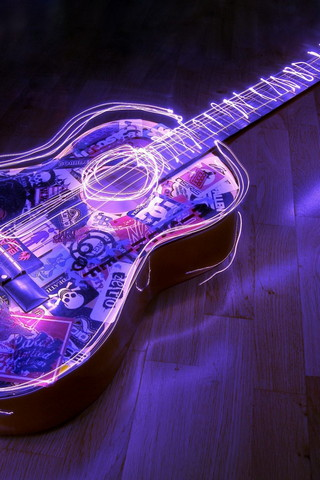 Lighted Guitar