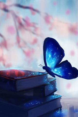 Mariposa de fantasía