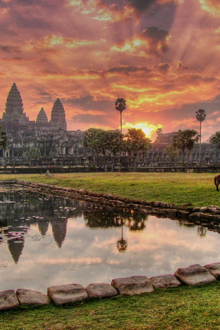Angkor Wat Beautiful view