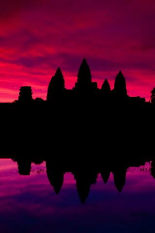Angkor Wat Lakes