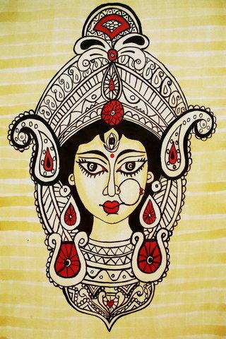 Khuôn mặt Durga