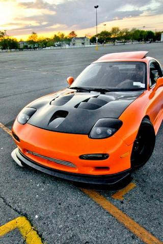 Orange&black Car