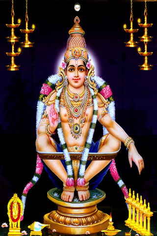 Beautiful God Ayyappa