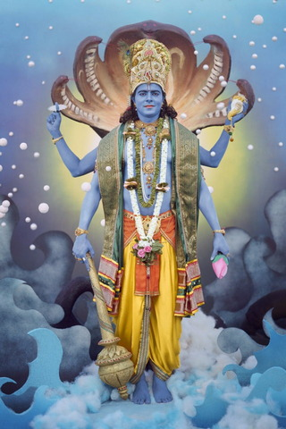 Great God vishnu