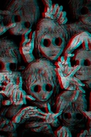 Facce spaventose