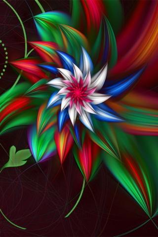 Fraktal Kwiaty