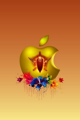 Fancy Apple 4