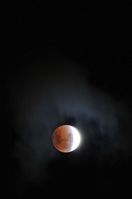 보름달과 하늘