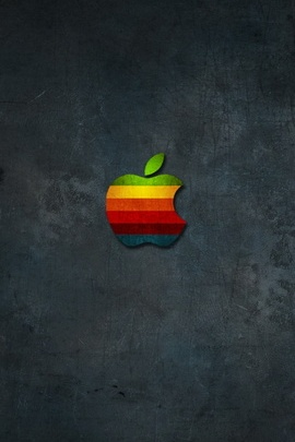 Apple logotipo papel de parede IPhone 5 7