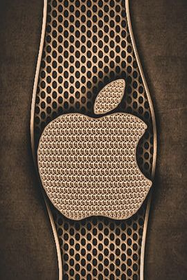 Brass Grate & Mesh Apple