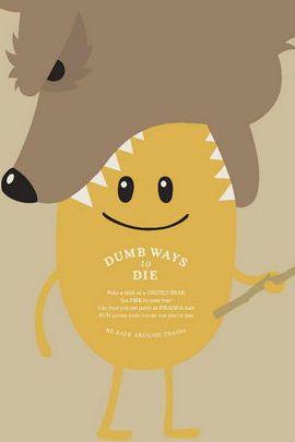 Dumb Ways To Die Bears