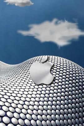 Серебряное яблоко