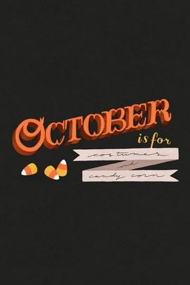октября